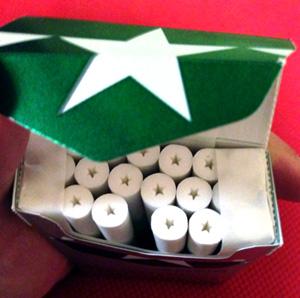 SevenStars menthol snapbox