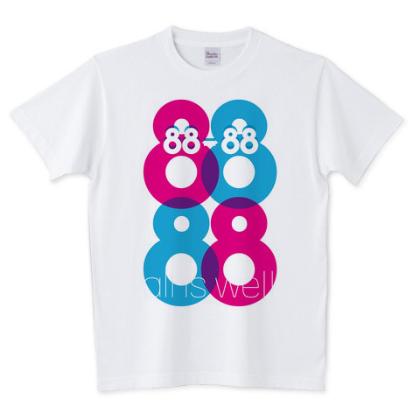 88-88 Tシャツ