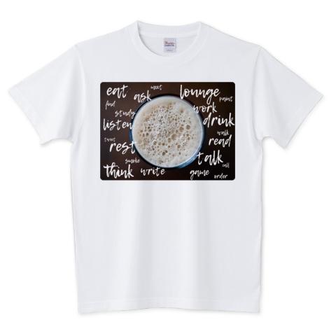 カフェですること Tシャツ