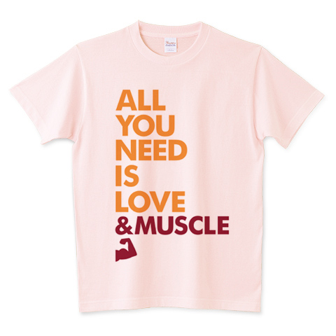 ALL YOU NEED IS LOVE & MUSCLE