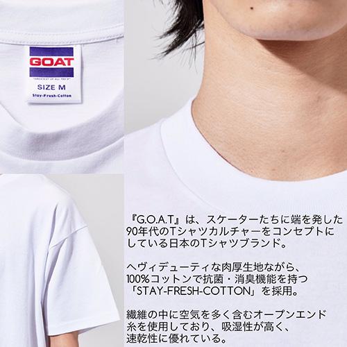 GOATのビッグシルエットTシャツ