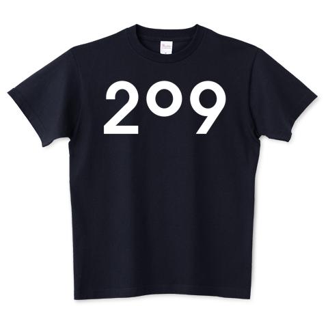 209Tシャツ