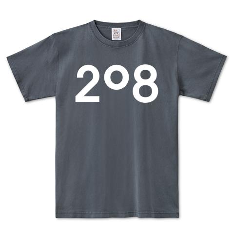 208ピグメントTシャツ