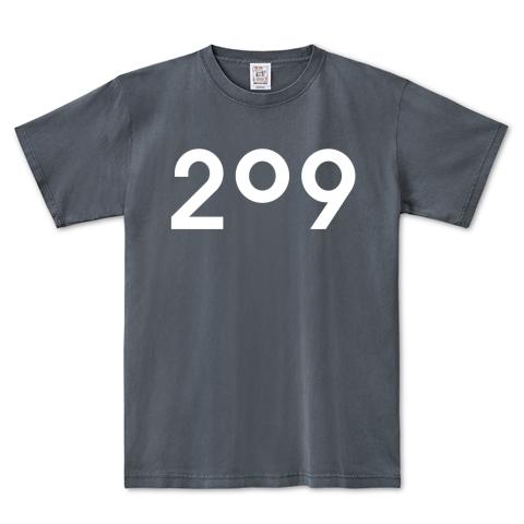 209ピグメントTシャツ