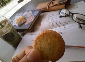 初夏のクッキー