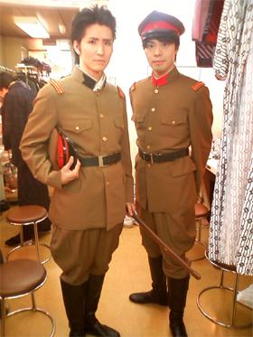 戸塚中尉&日下少尉