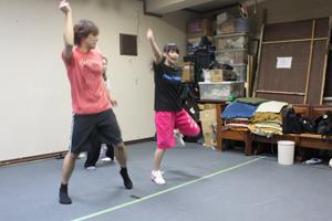 ダンス振付中!