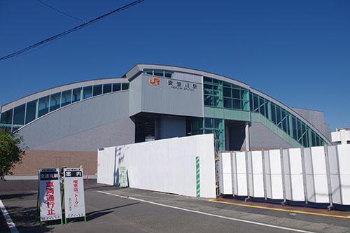駅舎改築】東海道線・安倍川駅 |...