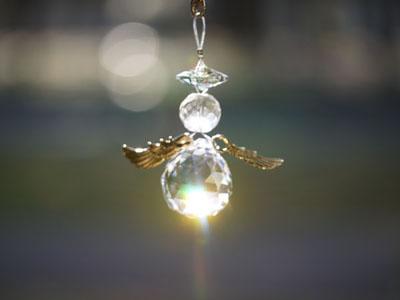 天使の水晶サンキャッチャー