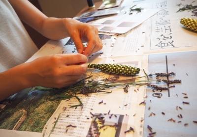 ラベンダースティック 編み方 作り方