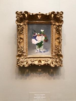 マネ ナショナル ギャラリー オブ アート 絵画 花 national gallery of art Edouard  Manet flowers in a crystal vase
