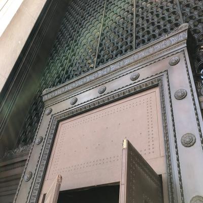 ナショナル ギャラリー オブ アート ワシントン アメリカ 入口 ドア荘厳 national gallery of art entrance door
