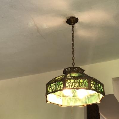ヘミングウェイの家 フロリダ キーウエスト シャンデリア ライト Florida Ernest Hemingway's home chandelier lights