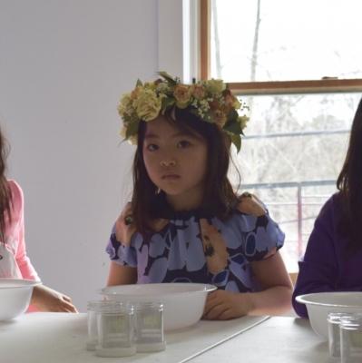 花冠 ヘッドピース ドライフラワー プリンセス flower crown headpieces dried flowers garden fondly birthday party kids Easter
