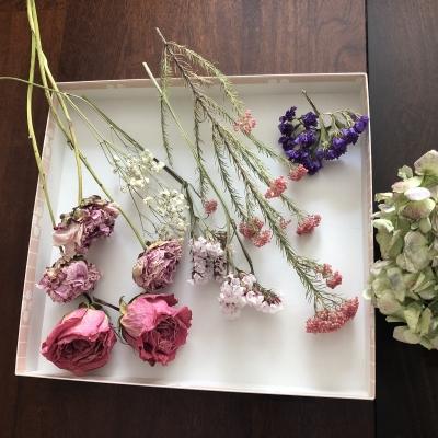 リース 子ども レッスン 夏休み ドライフラワー wreaths kids lesson summer class dried flowers garden fondly