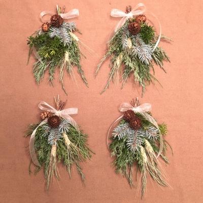 ミニスワッグ インテリア フラワー プランツ グリーン系 癒し ナチュラル Swag wall decoration flower green comfort garden fondly