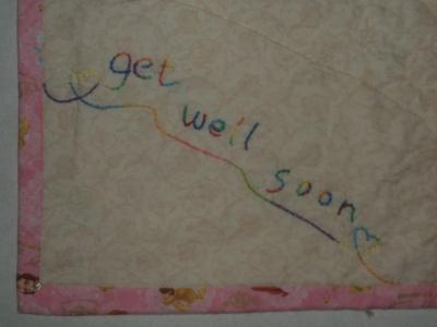"""get well soon"