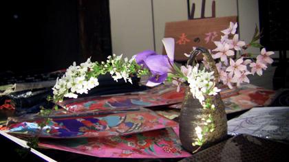 和布「杏の花」