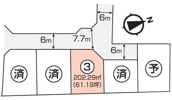 福富西区画図