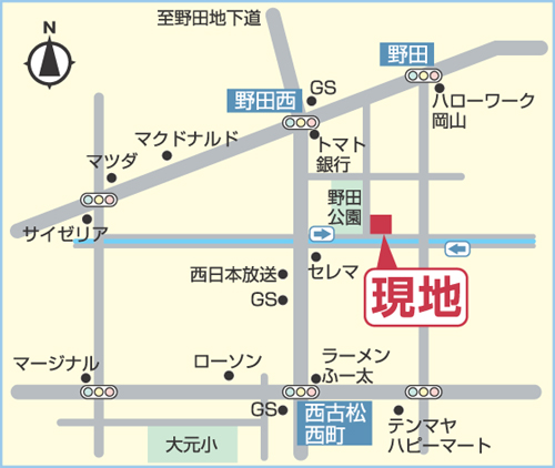 ビ・ウェル野田公園MAP