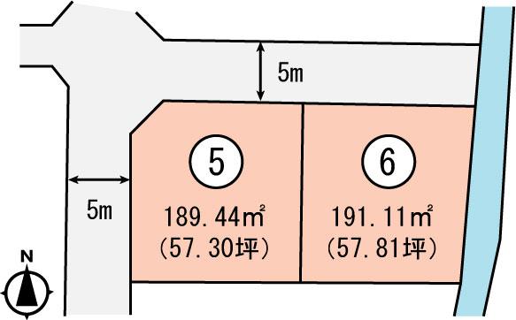 岡山市南区泉田区画図