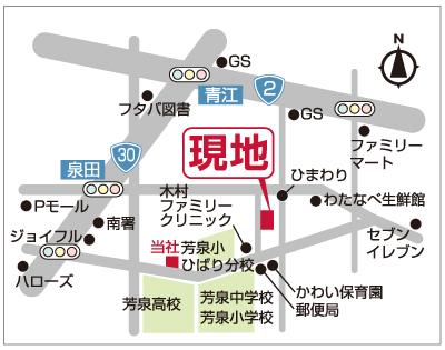 岡山市南区泉田地図