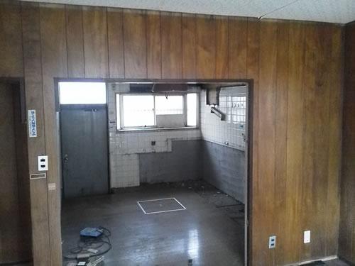キッチンの写真です