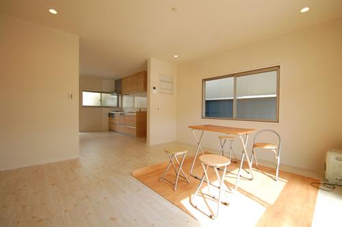 中区海吉リノベーション住宅リビング