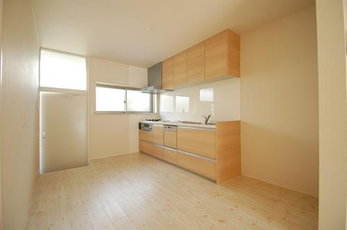 中区海吉リノベーション住宅キッチン