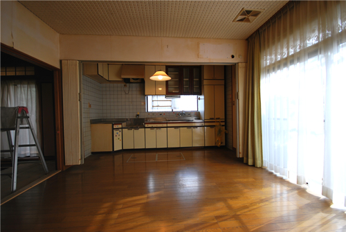 中区関施工前 キッチン