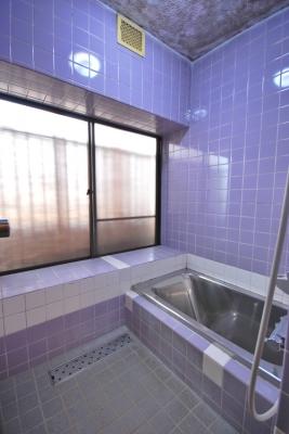 中区関施工前 浴室