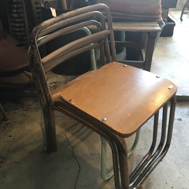 幼稚園椅子 古道具