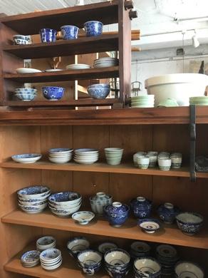 印判 陶器 茶碗 蕎麦猪口