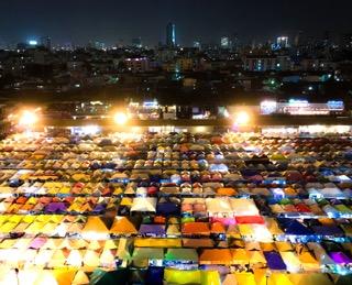 タイ アンティーク ナイトマーケット