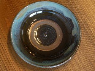 緑釉 5寸皿