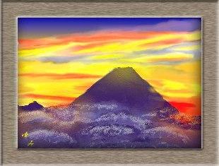 日本一の富士山