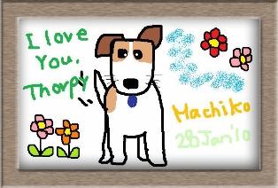 愛犬トロフィー
