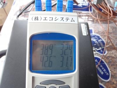 温度測定中