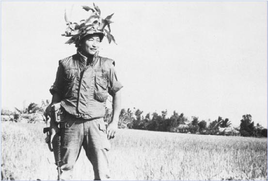 ベトナム戦争派兵時代の若き鄭明析先生