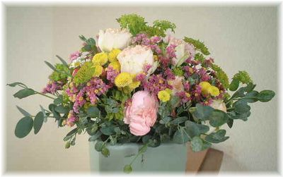 モダン装飾的花嫁の花束