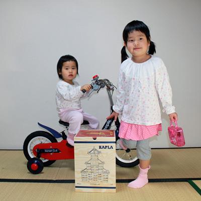 長女(5歳)の2009年クリスマスプレゼントはカプラでした。