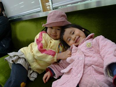 子ども2人と電車でお出かけ