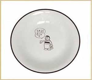 ジャイアン シチュー皿
