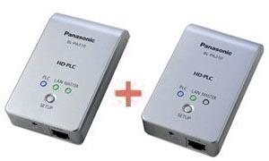 Panasonic HD-PLCアダプタースタートパック BL-PA310KT