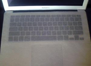 キーボード[MacBook Air]