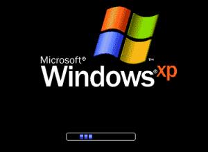 Windows XP 起動