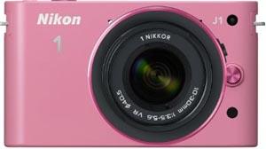 Nikon 1 ピンク N1 J1HLK pink