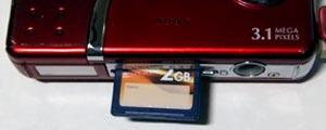 メモリーカード[HDC-303X]