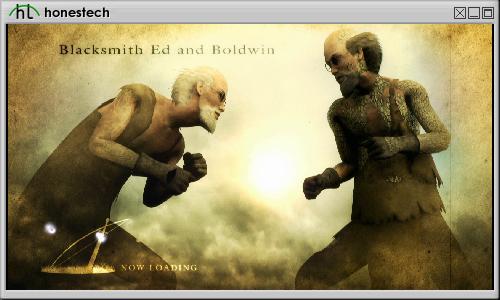 Blacksmith Ed and Boldwin[honestech]