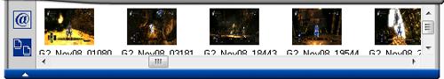 [honestech DVR2.5] ファイル一覧トレイ